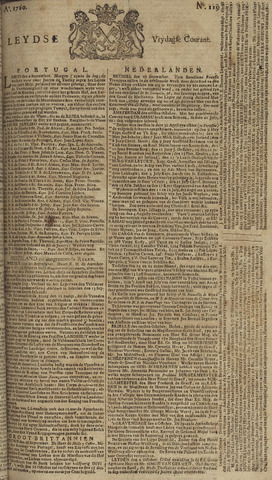 Leydse Courant 1760-10-03