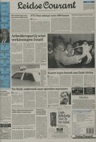 Leidse Courant 1992-06-24