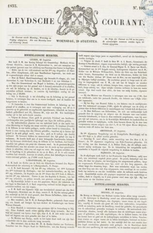 Leydse Courant 1855-08-29