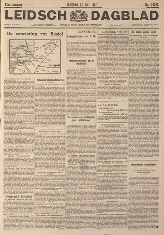 Leidsch Dagblad 1942-07-25
