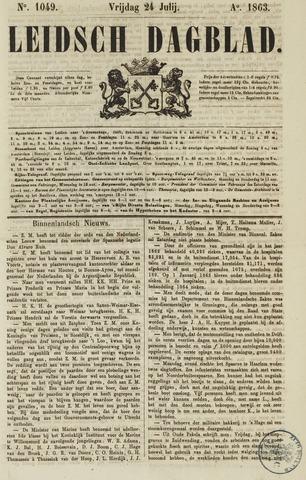 Leidsch Dagblad 1863-07-24