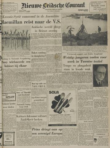 Nieuwe Leidsche Courant 1957-10-18