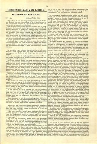 Handelingen van de Raad 1913-05-17
