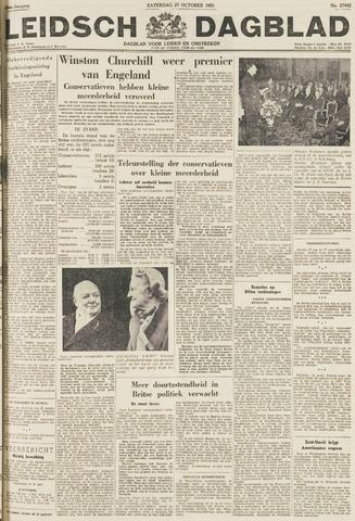 Leidsch Dagblad 1951-10-27