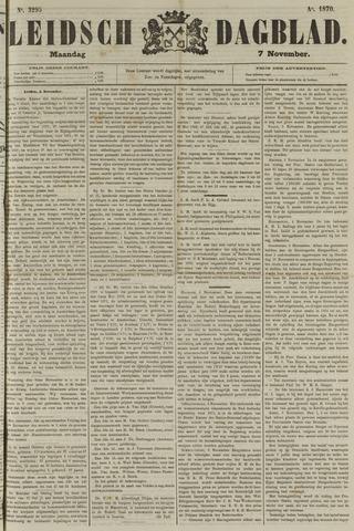 Leidsch Dagblad 1870-11-07
