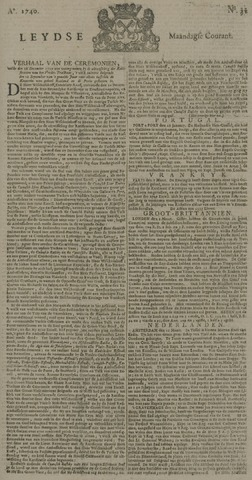 Leydse Courant 1740-03-14