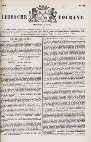Leydse Courant 1879-04-19