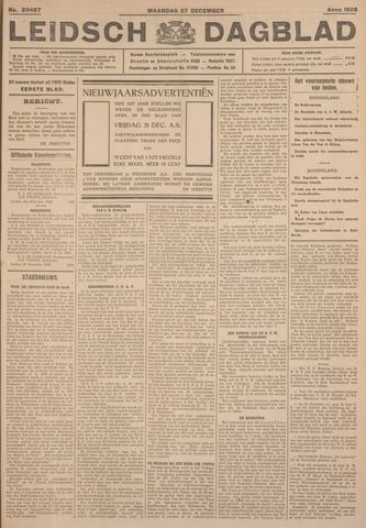 Leidsch Dagblad 1926-12-27