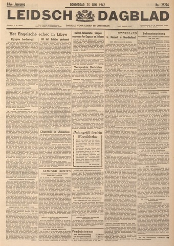 Leidsch Dagblad 1942-06-25