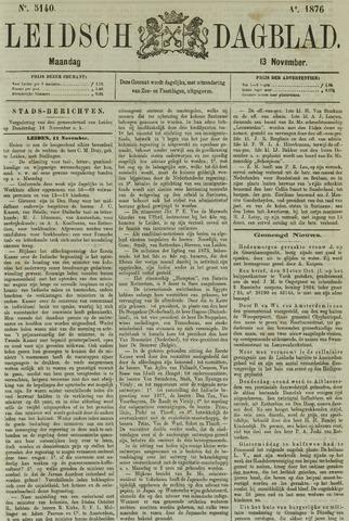 Leidsch Dagblad 1876-11-13