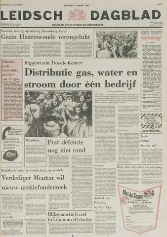 Leidsch Dagblad 1980-06-30