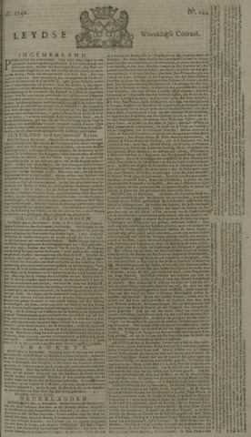 Leydse Courant 1740-11-30
