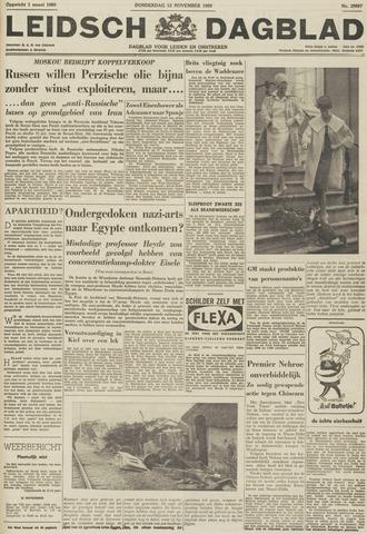 Leidsch Dagblad 1959-11-12