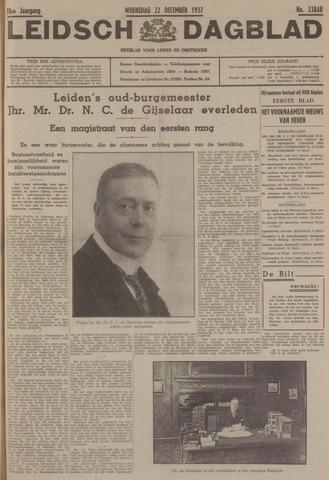 Leidsch Dagblad 1937-12-22