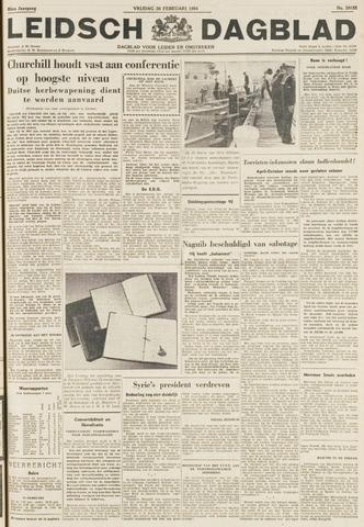 Leidsch Dagblad 1954-02-26