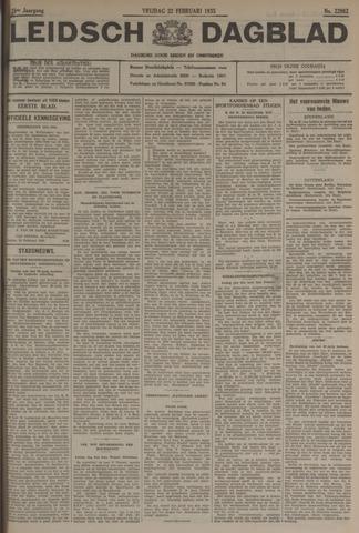 Leidsch Dagblad 1935-02-22