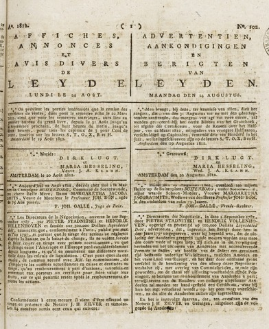 Leydse Courant 1812-08-24