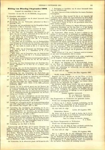 Handelingen van de Raad 1903-09-01