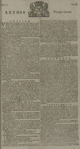 Leydse Courant 1727-12-05