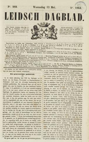 Leidsch Dagblad 1863-05-13