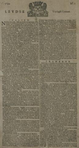Leydse Courant 1734-01-01