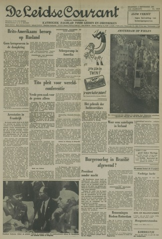 Leidse Courant 1961-09-04
