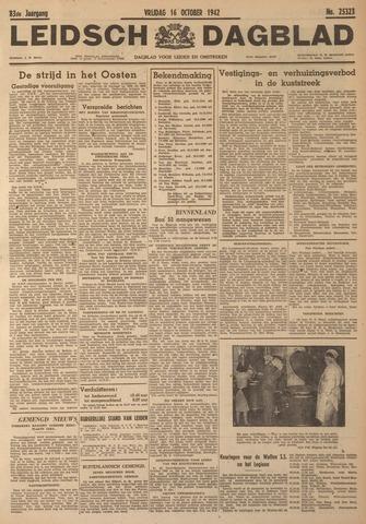 Leidsch Dagblad 1942-10-16