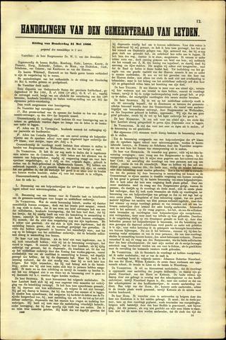 Handelingen van de Raad 1866-05-31