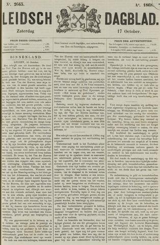 Leidsch Dagblad 1868-10-17