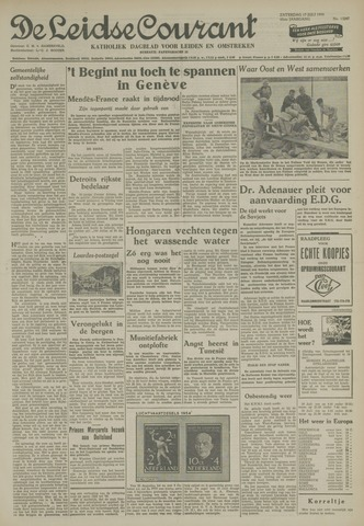 Leidse Courant 1954-07-17
