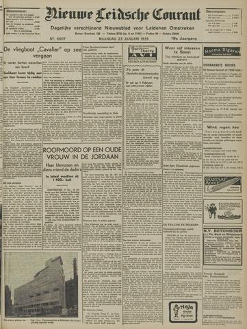 Nieuwe Leidsche Courant 1939-01-23