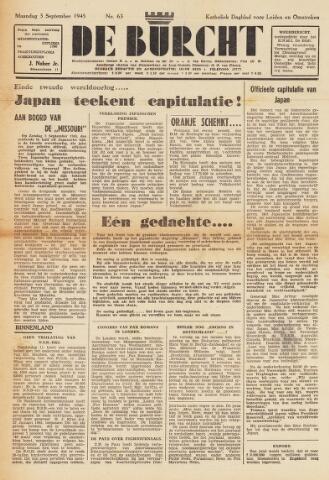 De Burcht 1945-09-03