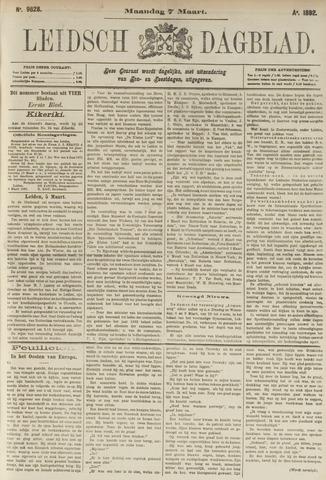 Leidsch Dagblad 1892-03-07