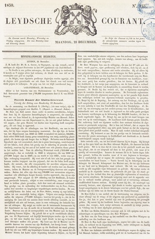 Leydse Courant 1850-12-23
