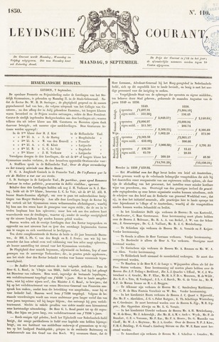 Leydse Courant 1850-09-09