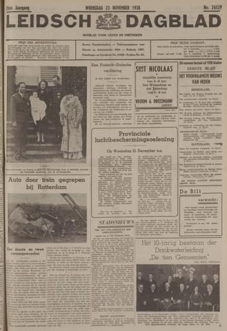 Leidsch Dagblad 1938-11-23