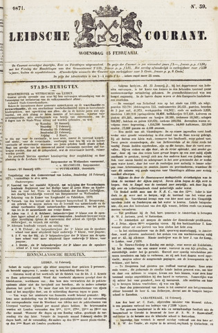 Leydse Courant 1871-02-15