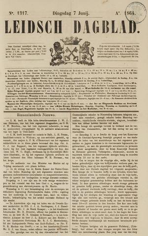 Leidsch Dagblad 1864-06-07