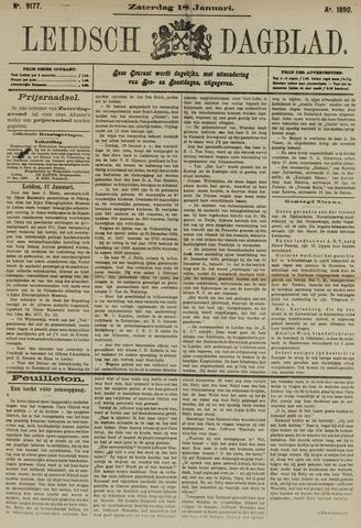 Leidsch Dagblad 1890-01-18