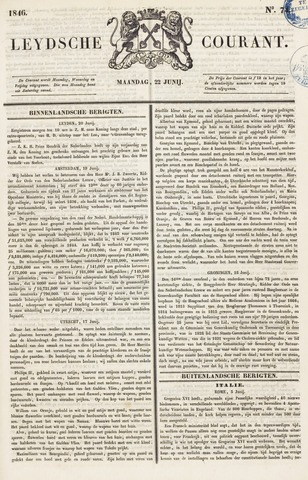 Leydse Courant 1846-06-22