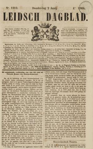 Leidsch Dagblad 1864-06-02