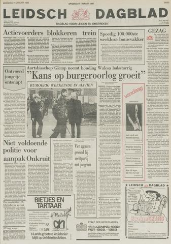 Leidsch Dagblad 1982-01-18