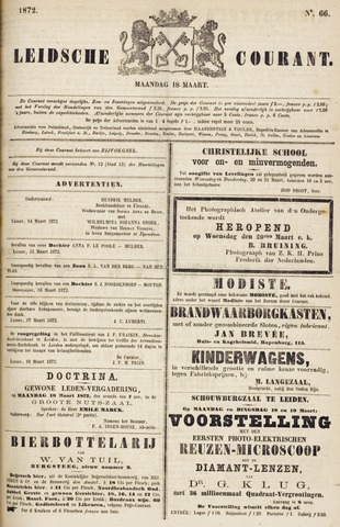 Leydse Courant 1872-03-18