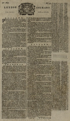 Leydse Courant 1807-04-24