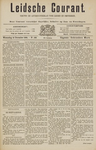 Leydse Courant 1885-12-16