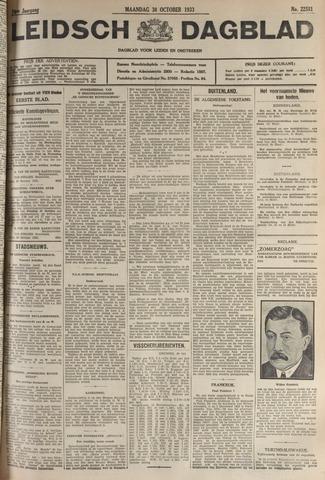 Leidsch Dagblad 1933-10-30