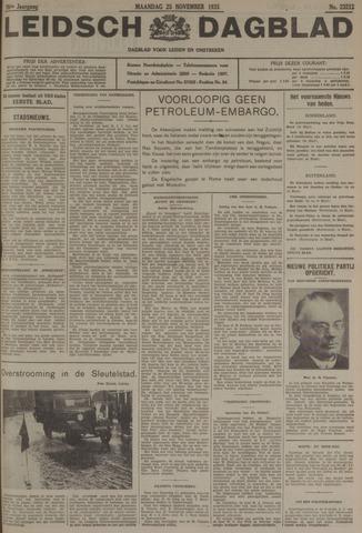 Leidsch Dagblad 1935-11-25