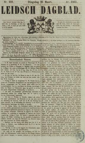 Leidsch Dagblad 1861-03-26