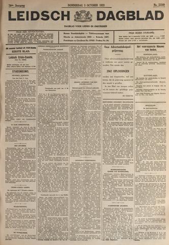 Leidsch Dagblad 1933-10-05