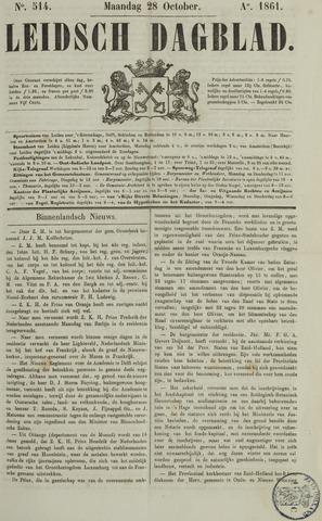 Leidsch Dagblad 1861-10-28